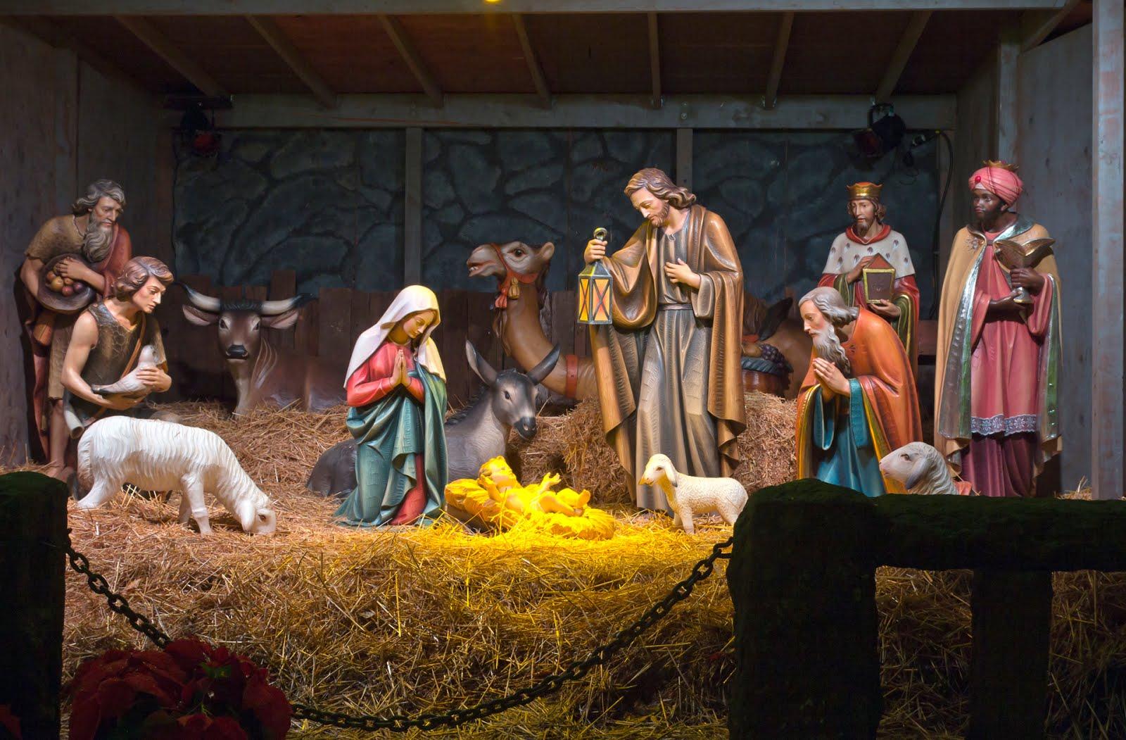 nacimiento-de-jesus-representacion-natividad-merry-christmas-pesebre ...