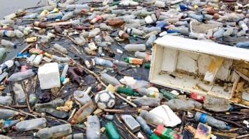 Contaminantes islas de basura