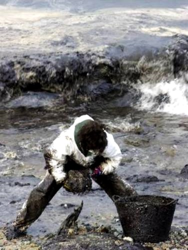 Contaminantes por petróleo mares